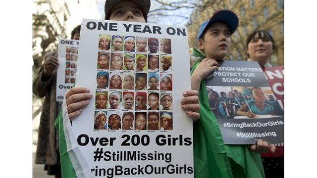 A year after kidnap of schoolgirls in Nigeria, hope dwindles