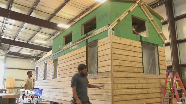 largest tiny house. An inside look at the US  largest tiny house manufacturer