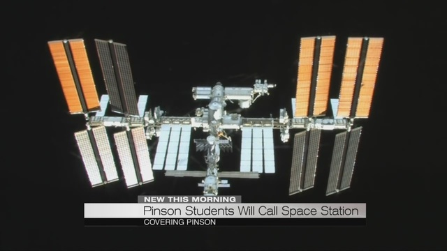 WATCH: Pinson Valley High School students contact International Space Station