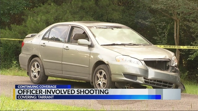 Authorities set to interview Tarrant officers involved in Monday night shooting
