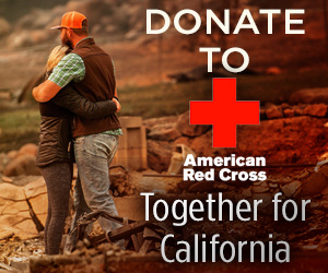 Click here to donate to the Red Cross for the California Wildfires
