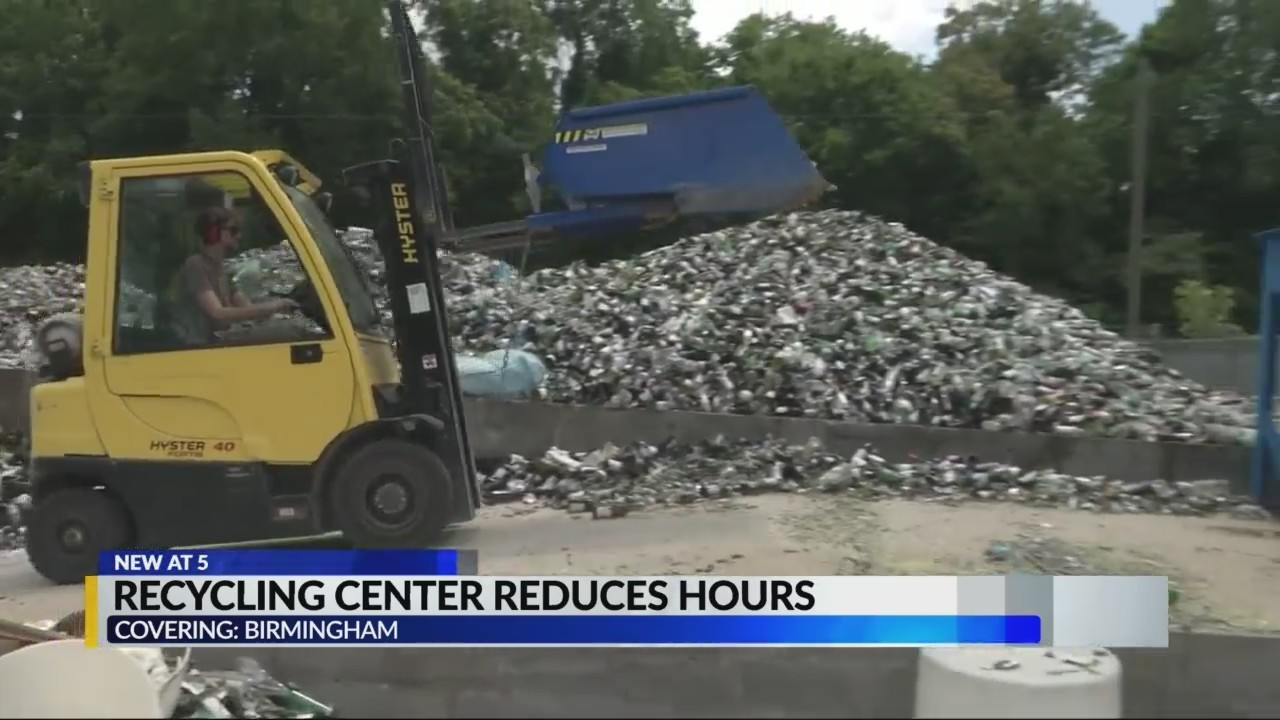Recycling center reduces hours to Thursdays only