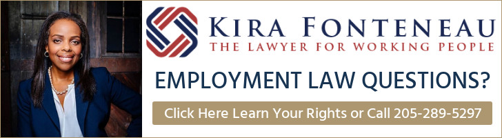 Central Alabama Law Line for Employment Law